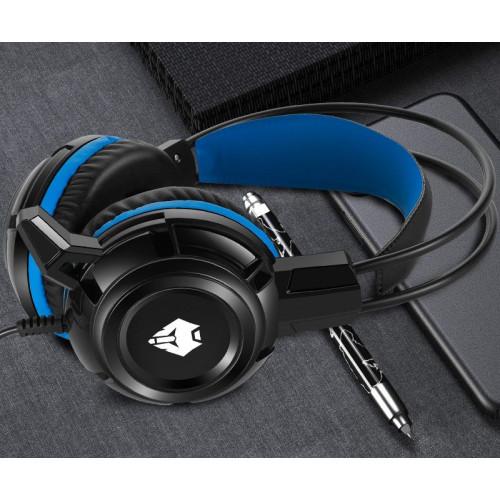 Gaming Headset LangTu MISDE X7 Headphones with Mic...