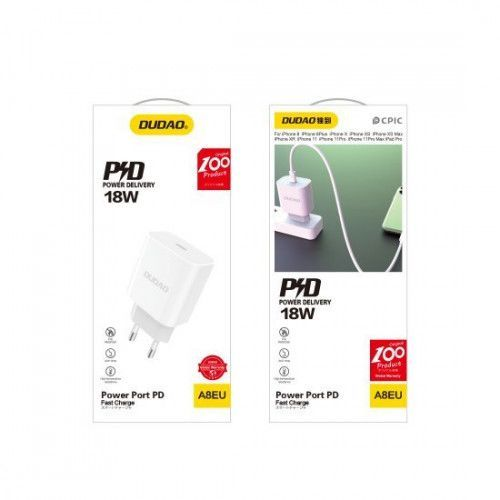 Dudao PD 18W quick charger QC3 Type-C